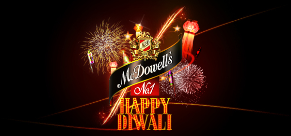 Diwali Creatives mc dowells