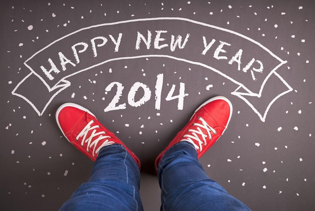 Conceptual Happy new year wallpaper