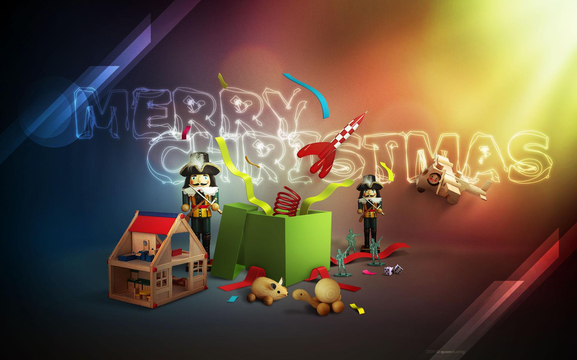 HD high resolution Merry Christmas wallpaper