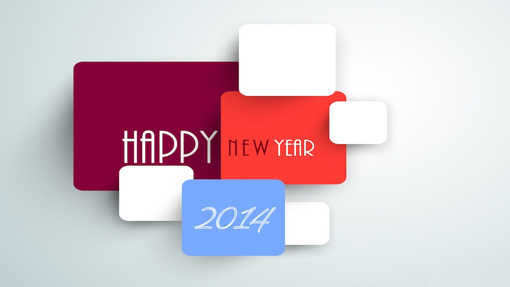 happy new year wallpaper greeting