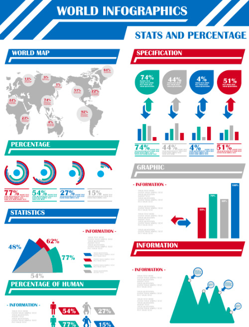 CGvector World Infographic
