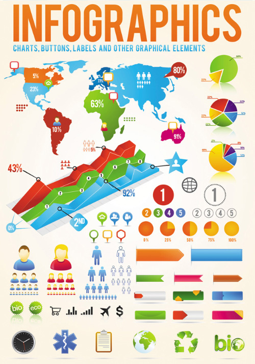 Infographic Design Elements EPS Vector download