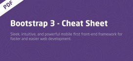 Master cheat sheet for Twitter Bootstrap 3 PDF Download